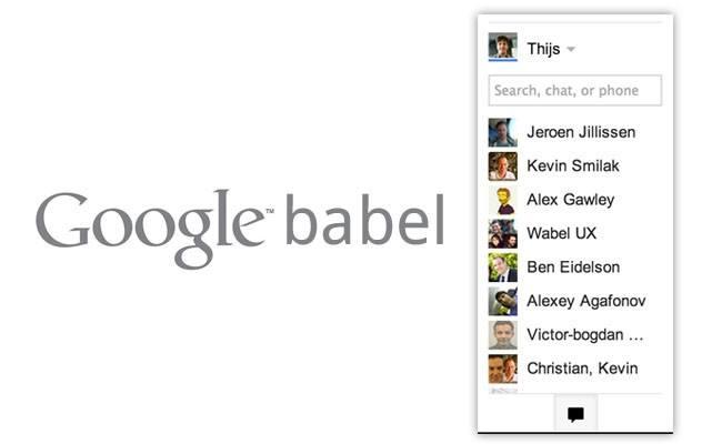 Aprende sobre Google Babel