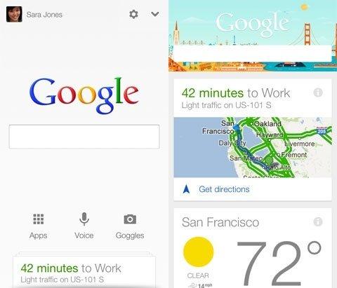 Google Now, ahora en iOS