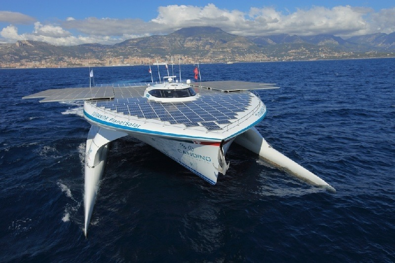 El barco solar m�s grande del mundo ser� utilizado para la investigaci�n cient�fica