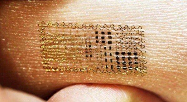 Nuevo sensor biom�trico act�a como una segunda piel