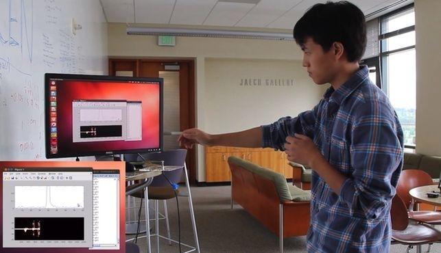 Universidad desarrolla sensor que permite controlar los electrodom�sticos con gestos