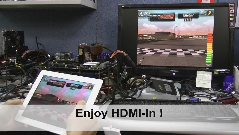 A-Style HDMI-In de ASRock facilita la conexión de Smartphones y Tablets al monitor