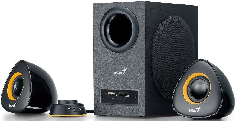 Genius presenta nuevo sistema de parlantes con decodificador MP3 incorporado