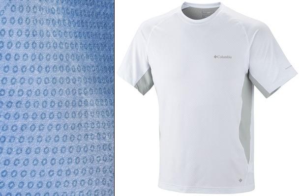 Una camiseta que ayuda a bajar la temperatura corporal