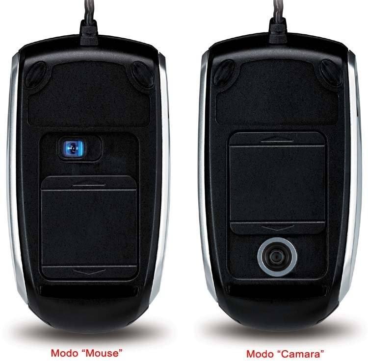 Genius presenta el novedoso mouse con cámara HD incorporada