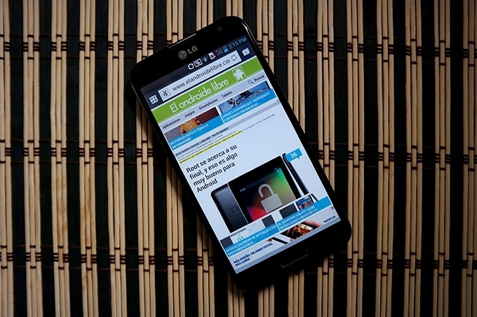 LG Optimus G Pro: An�lisis y experiencia de uso