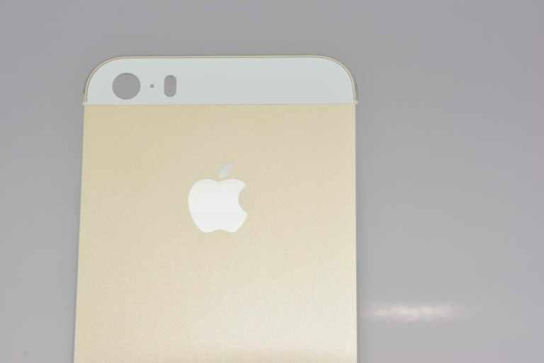 El iPhone 5S color champagne en nuevas fotografias en HD