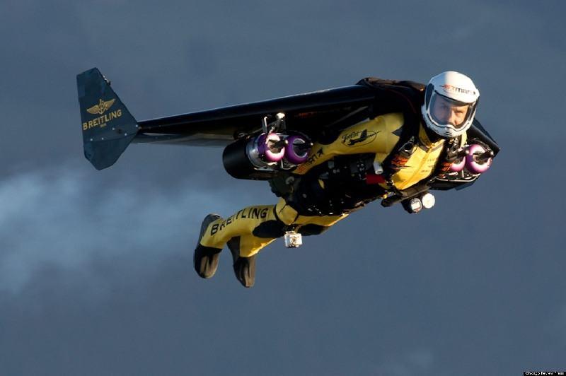 En Nueva Zelanda ya puedes ir al trabajo volando, o al cine, o a comprar.... con tu jet pack