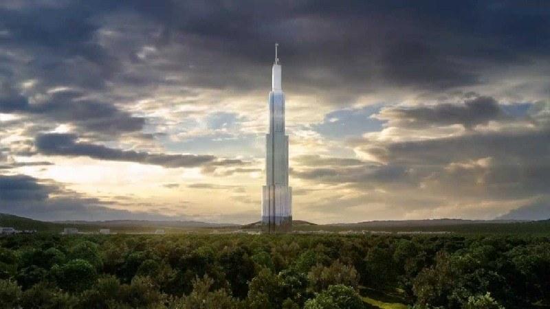 Comenz� la construcci�n del Sky City, el edificio m�s alto del mundo