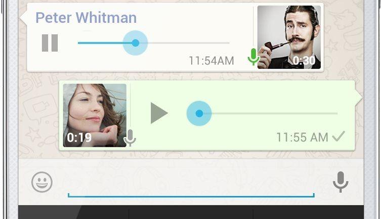 Ya puedes mantener conversaciones de voz con Whatsapp