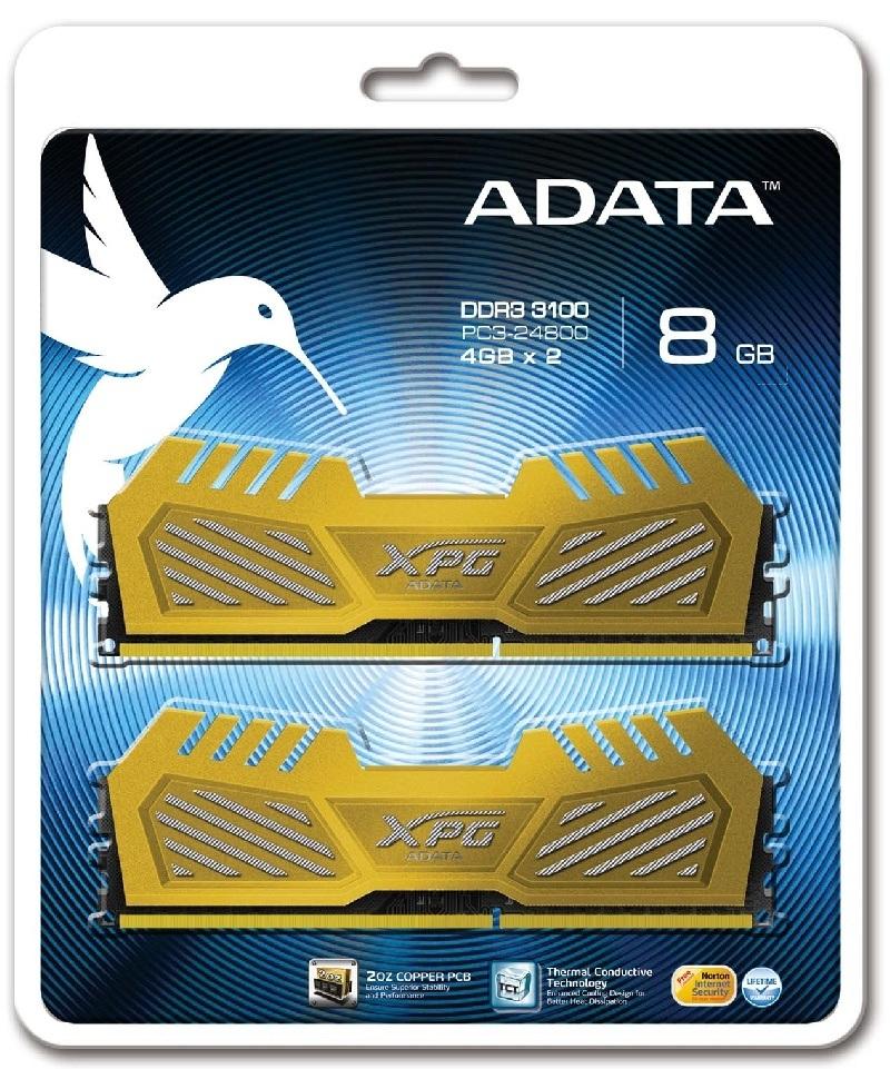 ADATA presenta las nuevas memorias XPG V2 para overclocking