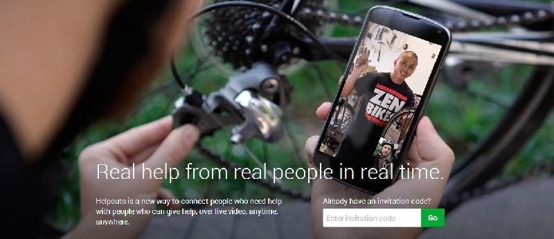Google Helpouts, la nueva plataforma de Google para asistencia en el hogar