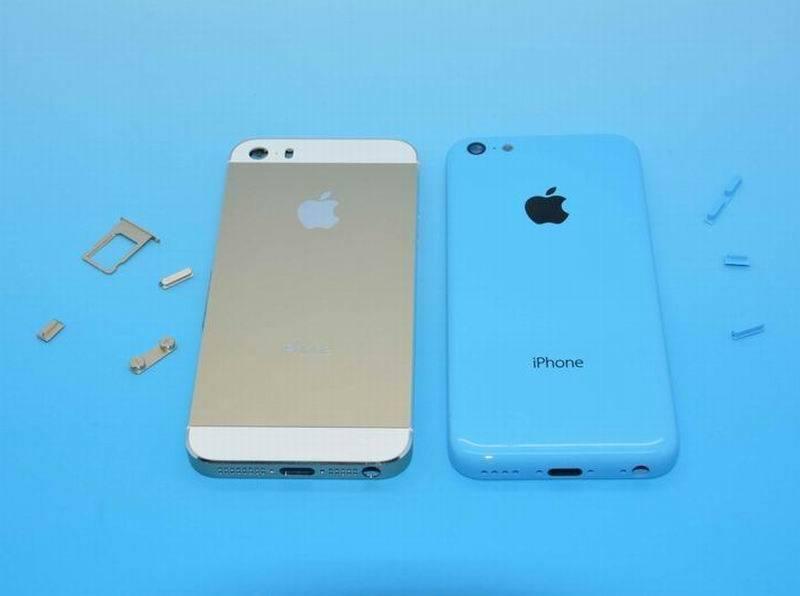 iPhone 5S y iPhone 5C aparecen juntos en nuevas im�genes filtradas