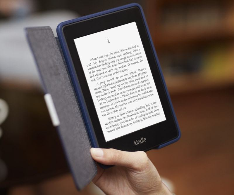 Amazon anuncia nuevo Kindle Paperwhite, el e-reader con pantalla iluminada