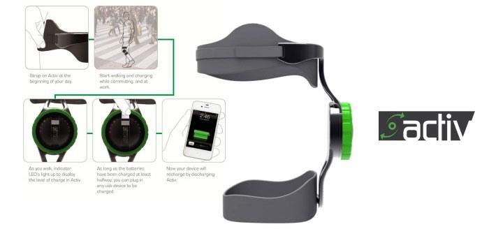 Dispositivo de carrera carga celular usando la energía del cuerpo