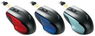 Genius presenta el novedoso mouse inal�mbrico que funciona con bater�a AA o AAA
