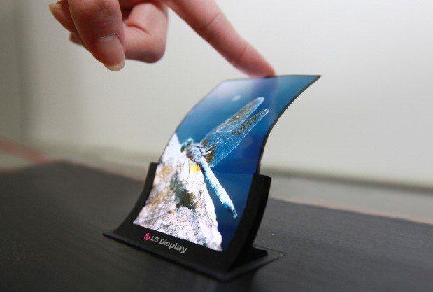LG anuncia la producci�n en masa de pantallas OLED flexibles