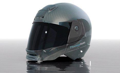 Los casco del motorista del futuro