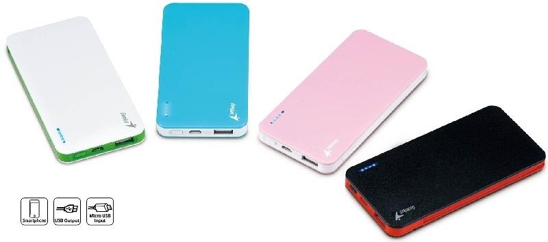 Smartphones siempre cargado con las atractivas baterías de Genius