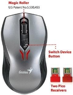 Genius presenta su mouse para usar con Tablet PCs y Smartphones