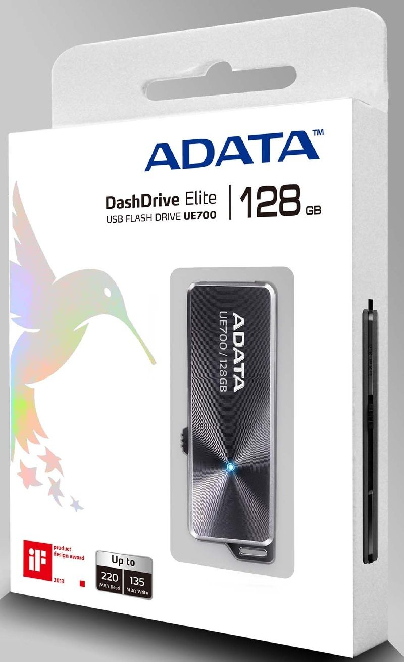 ADATA amplia la capacidad con el nuevo DashDrive Elite UE700 de 128GB