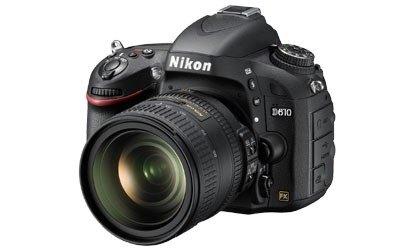 Nikon anuncia la D610, c�mara con sensor full-frame