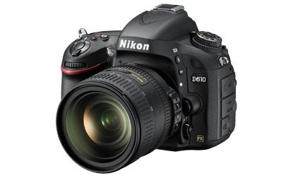 Nikon anuncia la D610, cámara con sensor full-frame
