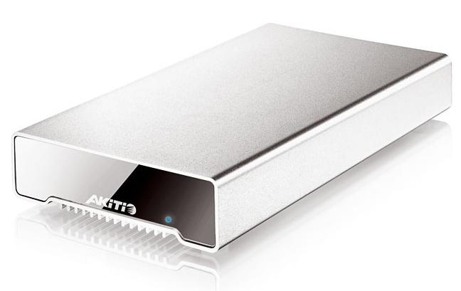 Akitio Neutrino Thunderbolt, el primer HD externo SSD 512 GB