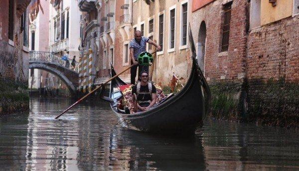 Pasea en g�ndola por Venecia desde tu casa con Google Street View