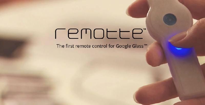 Remotte, el primer mando a distancia para Google Glass