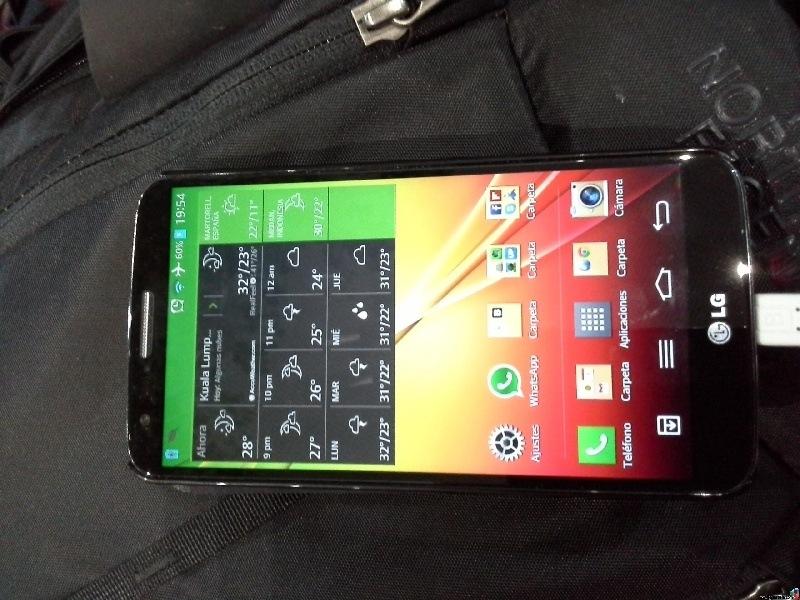 Review fotogr�fica LG G2