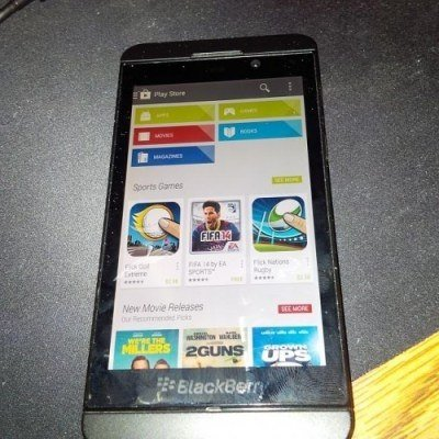 Blackberry se prepara para correr aplicaciones Android