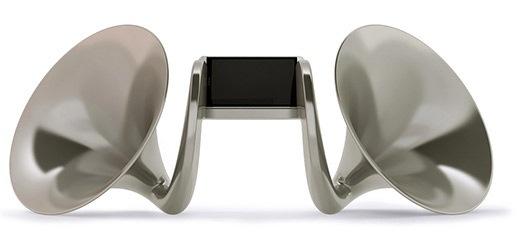 HTC lanza Gram�fono de $8.000 para amplificar el audio de los smartphones