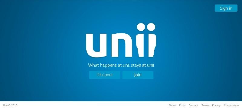 Unii, una red social de estudiantes