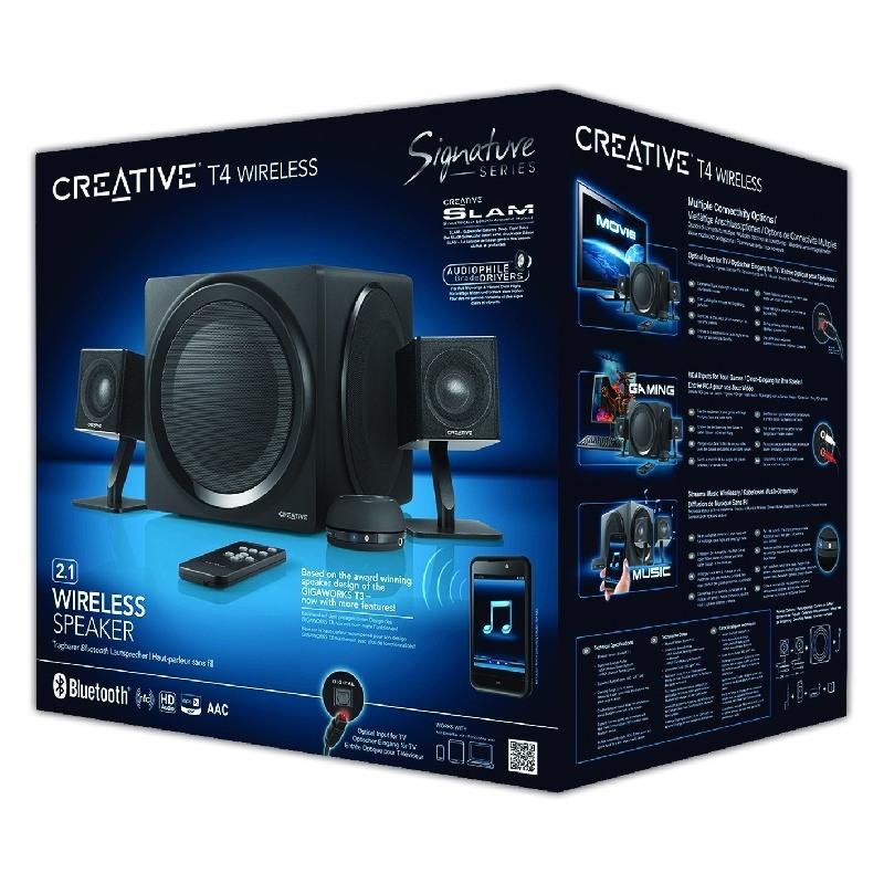 Creative presenta su sistema de audio 2.1 inal�mbrico m�s vers�til para todo el hogar; el T4 Wireless Series 2.1