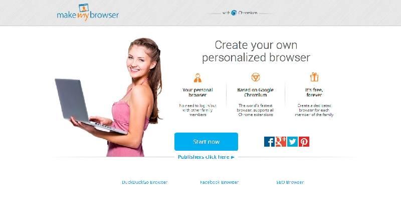 Make my Browser la plataforma para crear un buscador persona...