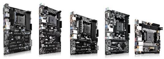 ASRock presenta las nuevas placas para la esperadas APU de AMD