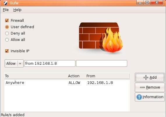 Firewall para Linux