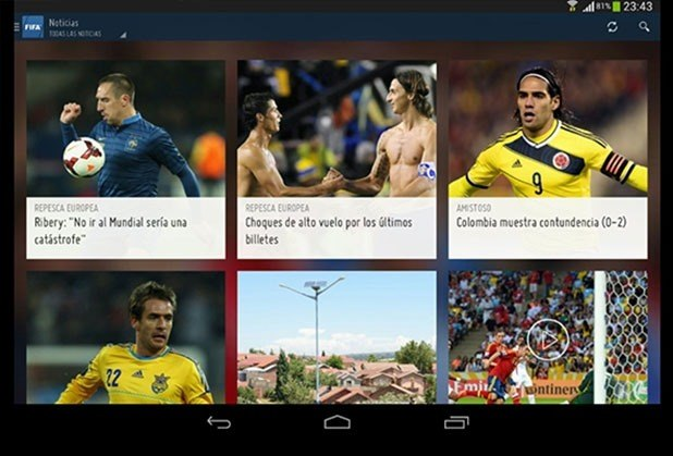Conoce las aplicaciones para seguir el Mundial 2014