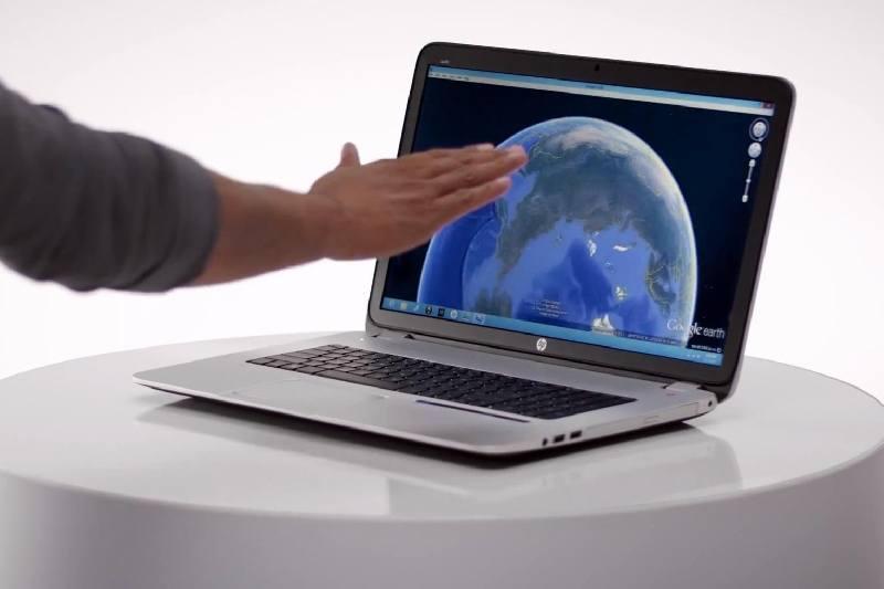 HP lanza ordenadores basados en sensores Leap Motion, que captan los movimientos en el aire