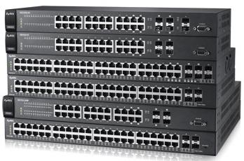 ZyXEL presenta Swithes de Gesti�n Inteligente de 24 o 48 puertos