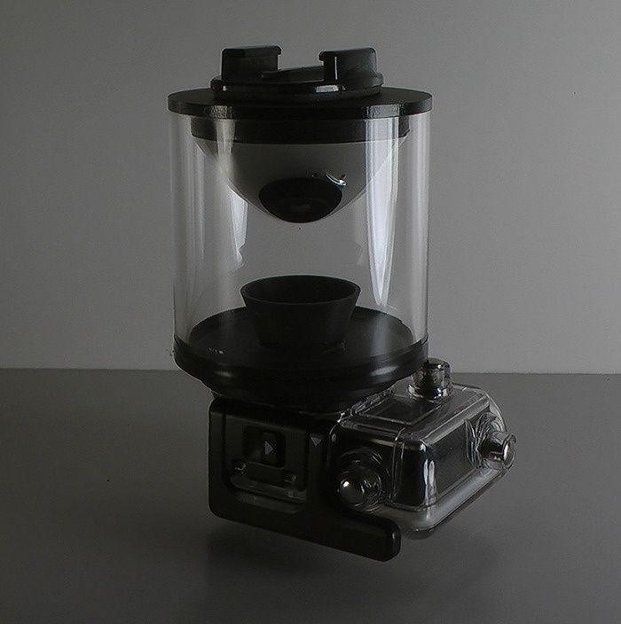 Dispositivo para capturar v�deos de 360 grados puede combinarse con cualquier c�mara