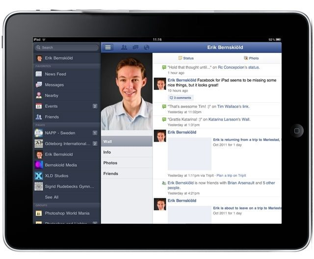 Facebook 4.0 Beta con muchas mejoras en su dise�o