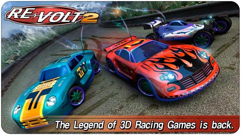Revolt-2, juego de carreras para Android