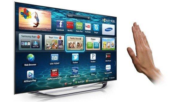 Samsung promete mejorar controles por gestos y voz en nuevos televisores inteligentes