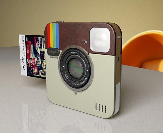 Socialmatic, la c�mara 'Instagram' de Polaroid, sigue siendo todav�a un prototipo