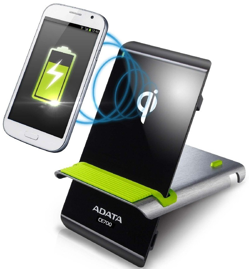 ADATA presenta el revolucionario cargador inalámbrico con tecnología inductiva