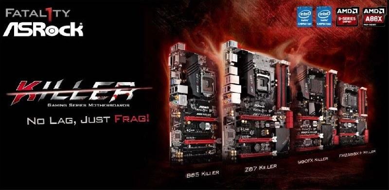 ASRock introduce 4 nuevas placas madre de la Serie Killer