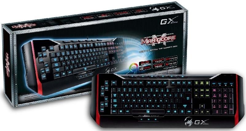 Genius presenta su nuevo teclado de la Serie GX Gaming