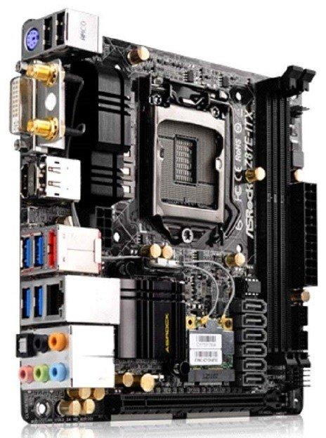 La sorprendente Z87E-ITX de ASRock integra rendimiento, tamaño compacto, y bajo consumo energético